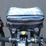 自転車 フロントバッグと収納品について